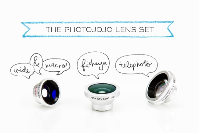 Photo lenses for an iPhone